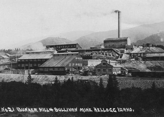 Bunker Hill Mine & Kellogg Mine Idaho